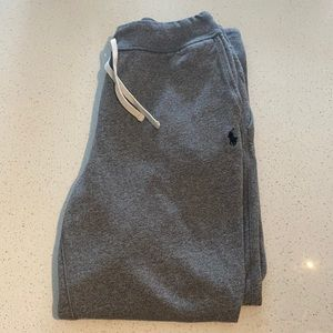 Polo grey sweat pants / L